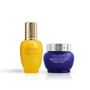 Precious SPF Cream & Immortelle Divine Serum Duo, , US