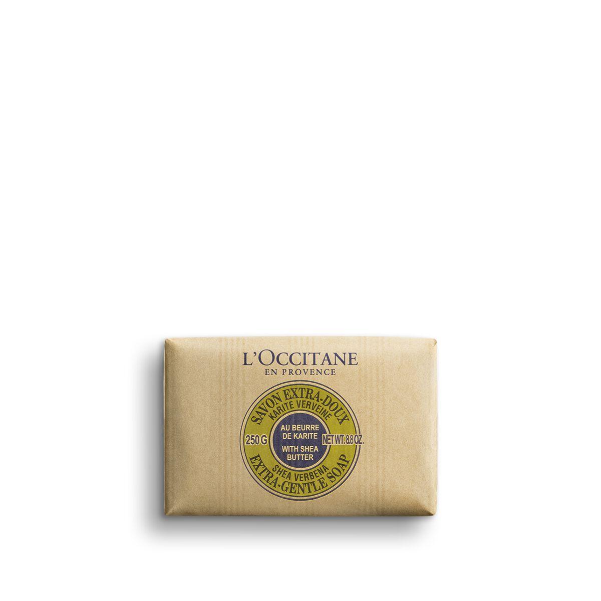 Shea Butter Extra Gentle Soap - Verbena 250 g.