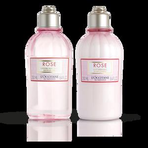 Rose Bath Body Duo, , US