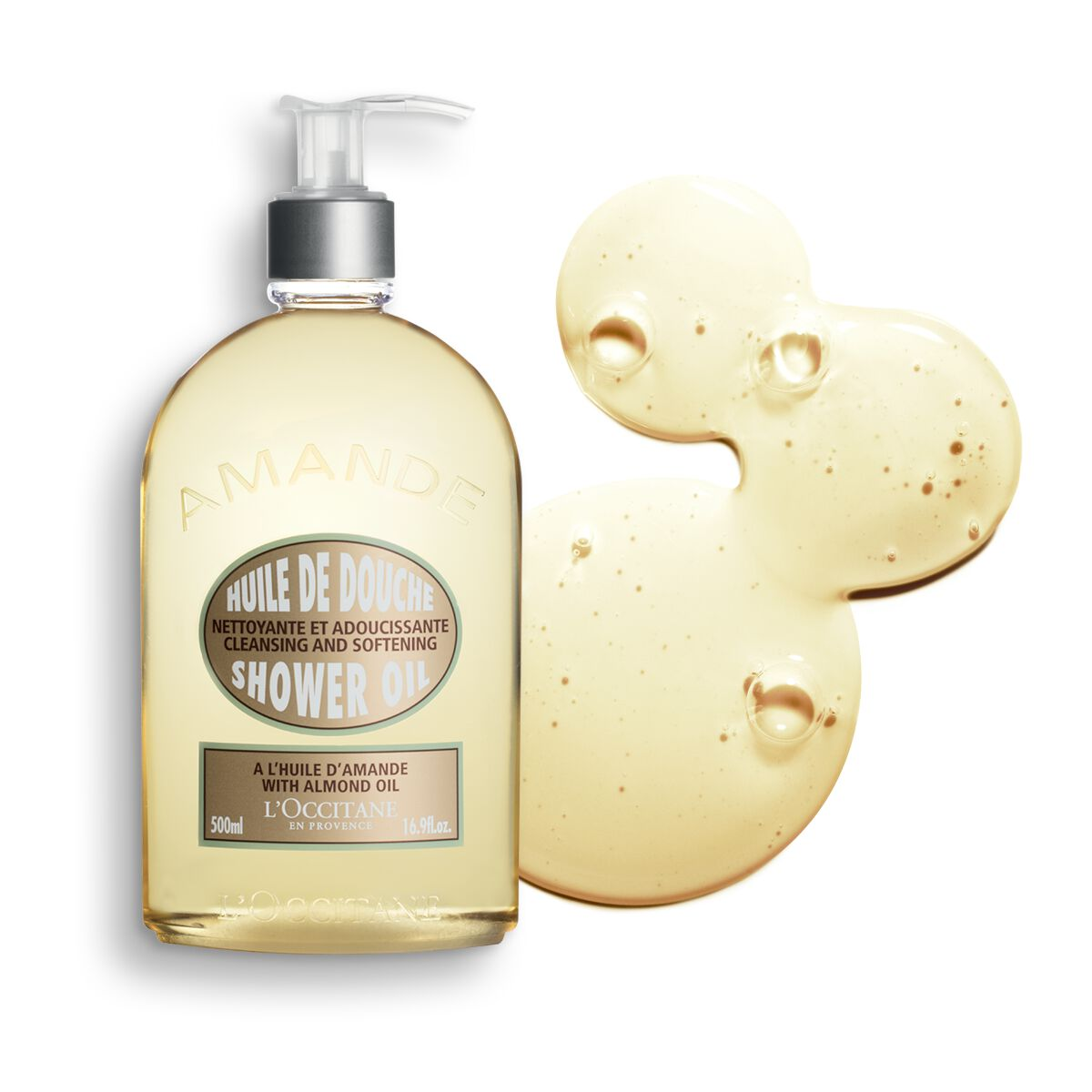 Almond Shower Oil 16.9 fl. oz.