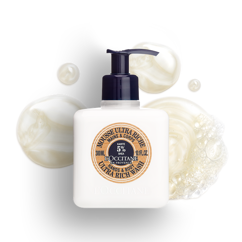 zoom view 1/2 of Shea Hands & Body Ultra Rich Wash
