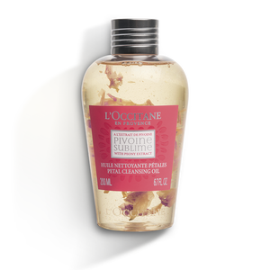 Peony Petal Cleansing Oil, , large