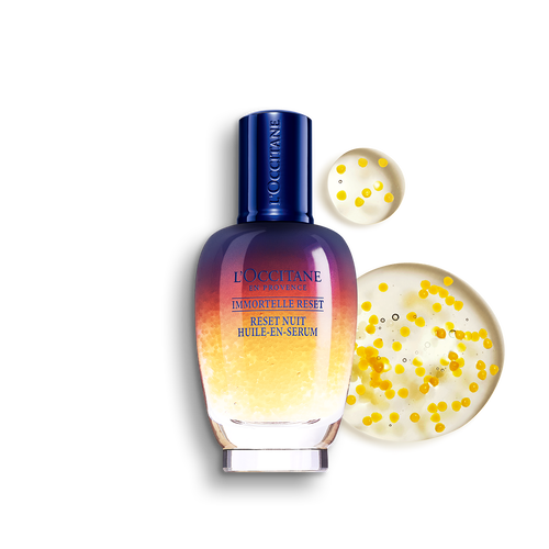 zoom view 1/4 of Immortelle Overnight Reset Oil-in-Serum