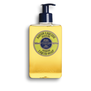 Shea Hands & Body Verbena Liquid Soap, , large