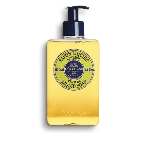 zoom view 1/1 of Shea Hands & Body Verbena Liquid Soap
