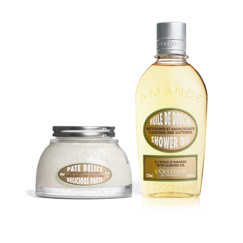 zoom view 1/1 of Almond Cleanse Exfoliate Duo