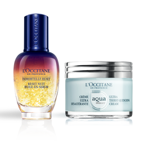 Aqua Réotier Cream Overnight Reset Duo, , US