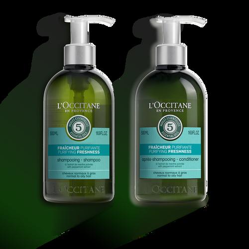 Agrandir la vue1/1 of Duo purifiante pour les cheveux Aromachologie