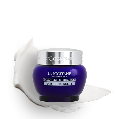 zoom view 1/8 of Immortelle Precious Overnight Mask