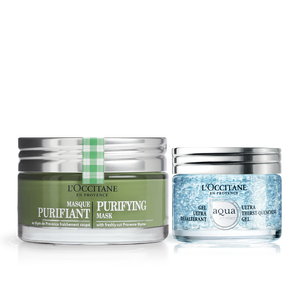 Purifying & Hydrating Skincare Duo, , US