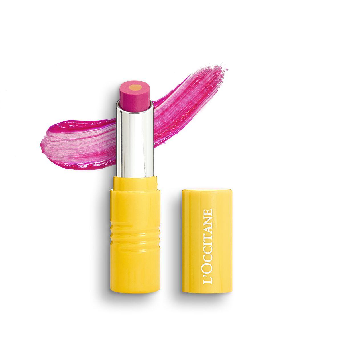 Fruity Lipstick - Flamingo Kiss 28 g. - L'OCCITANE