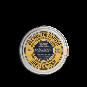 Organic-Certified* Pure Shea Butter, , large