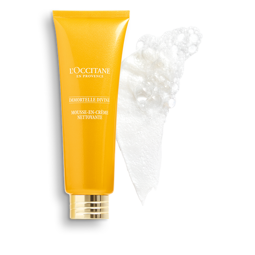 zoom view 1/3 of Immortelle Divine Foaming Cleansing Cream