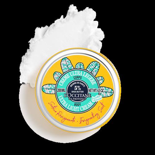 zoom view 1/3 of Invigorating Scent Shea Ultra Light Body Cream
