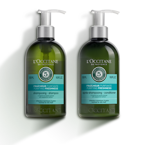 zoom view 1/1 of Aromachologie Purifying Hair Duo
