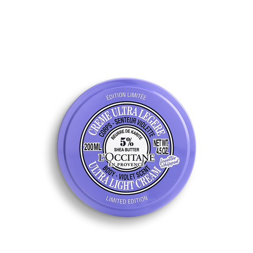 zoom view 1/3 of Shea Violet OMY Ultra Light Body Cream