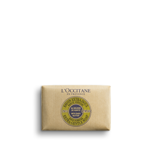 zoom view 1/2 of Shea Butter Extra Gentle Soap - Verbena