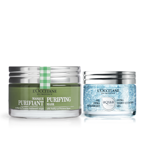 zoom view 1/1 of Purifying & Hydrating Skincare Duo
