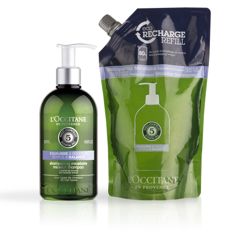 zoom view 1/1 of Gentle Shampoo & Refill Duo