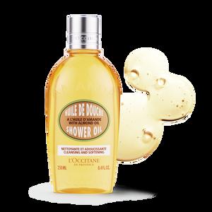 Almond Shower Oil, , US