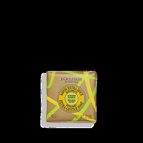 zoom view 1/1 of Shea Butter Bergamot Extra-Gentle Soap