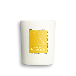 Douceur Immortelle Uplifting Candle, , large