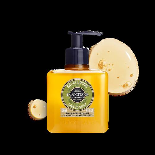 zoom view 1/2 of Shea Hands & Body Verbena Liquid Soap