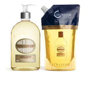 Almond Shower Refill Duo, , US