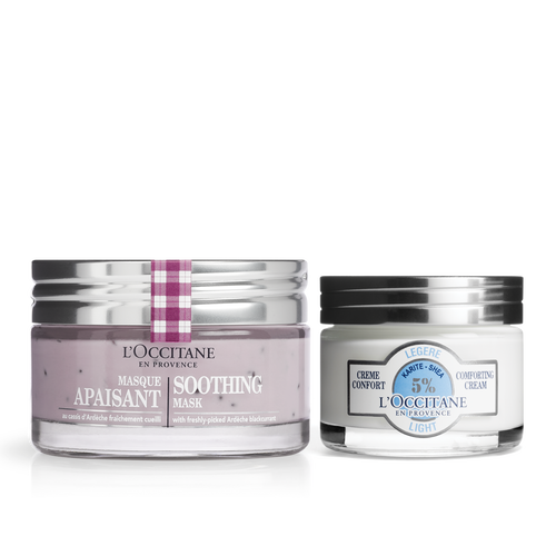 zoom view 1/1 of Soothing Mask & Cream Duo