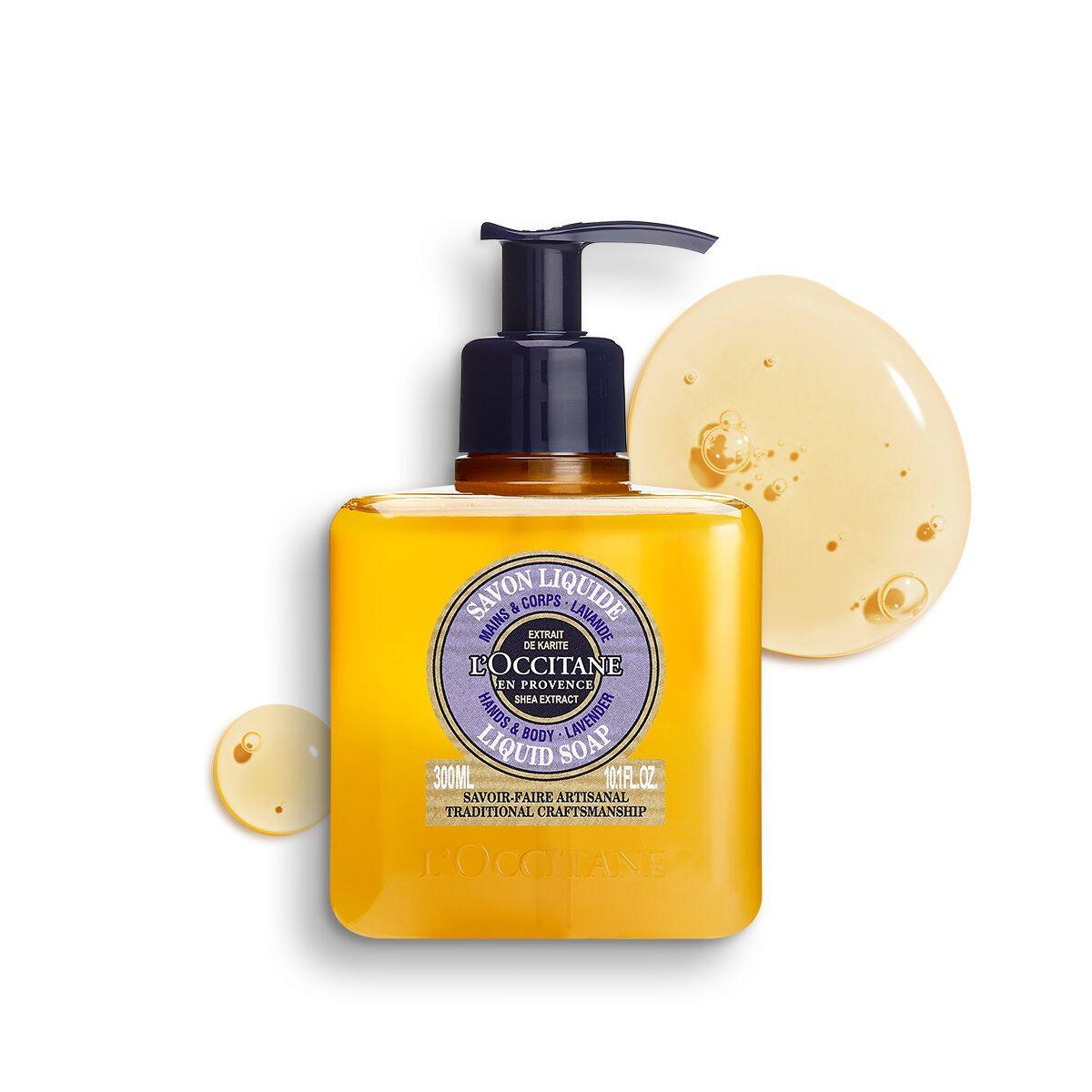 Shea Hands & Body Lavender Liquid Soap 10.1 fl. oz.