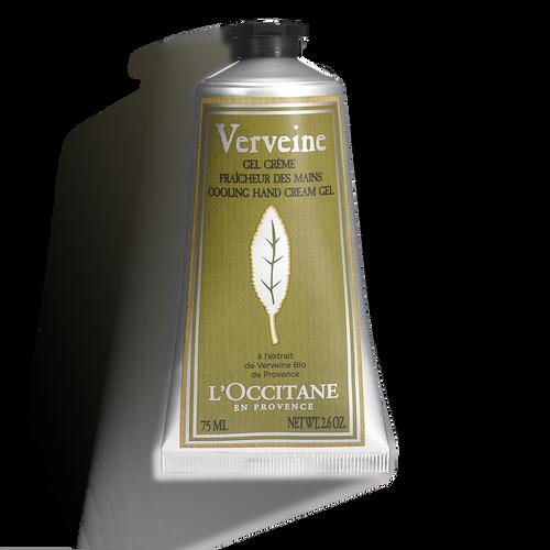 zoom view 1/2 of Verbena Cooling Hand Cream Gel