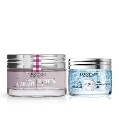 zoom view 1/1 of Soothing & Hydrating Skincare Duo