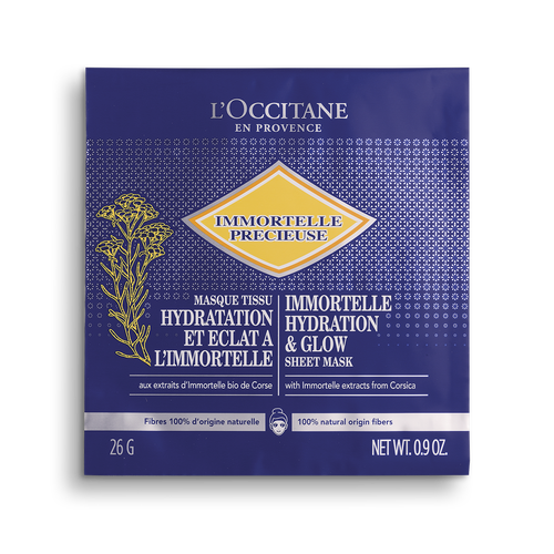 zoom view 1/1 of Immortelle Hydration & Glow Sheet Mask