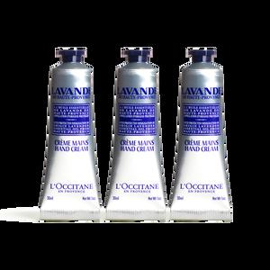 Lavender Hand Cream Trio, , US