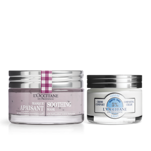 Soothing Mask & Cream Duo, , US