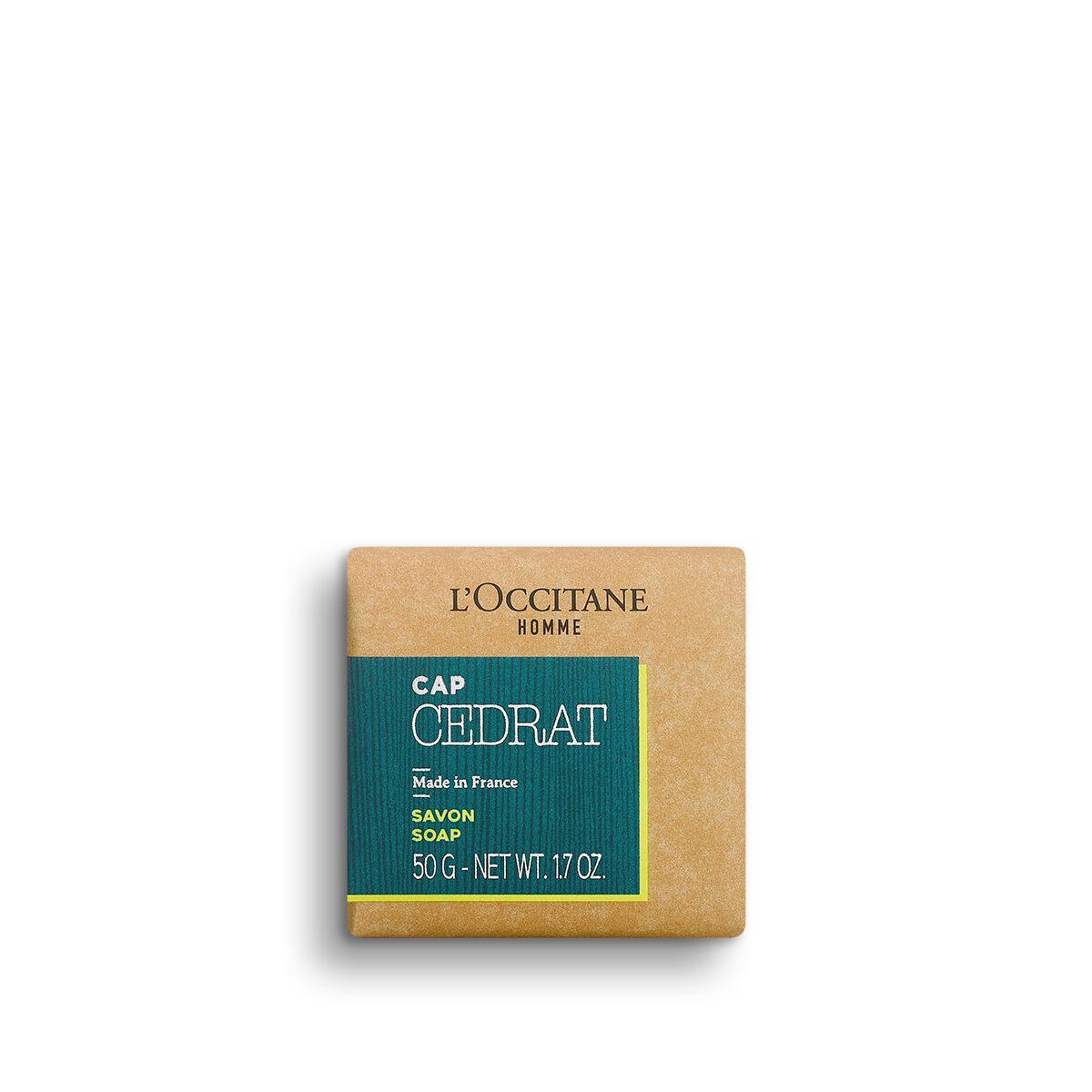 Cap Cédrat Soap 50 g. - L'OCCITANE