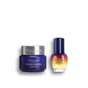 Overnight Reset Eye Serum Immortelle Precious Eye Balm Duo, , large