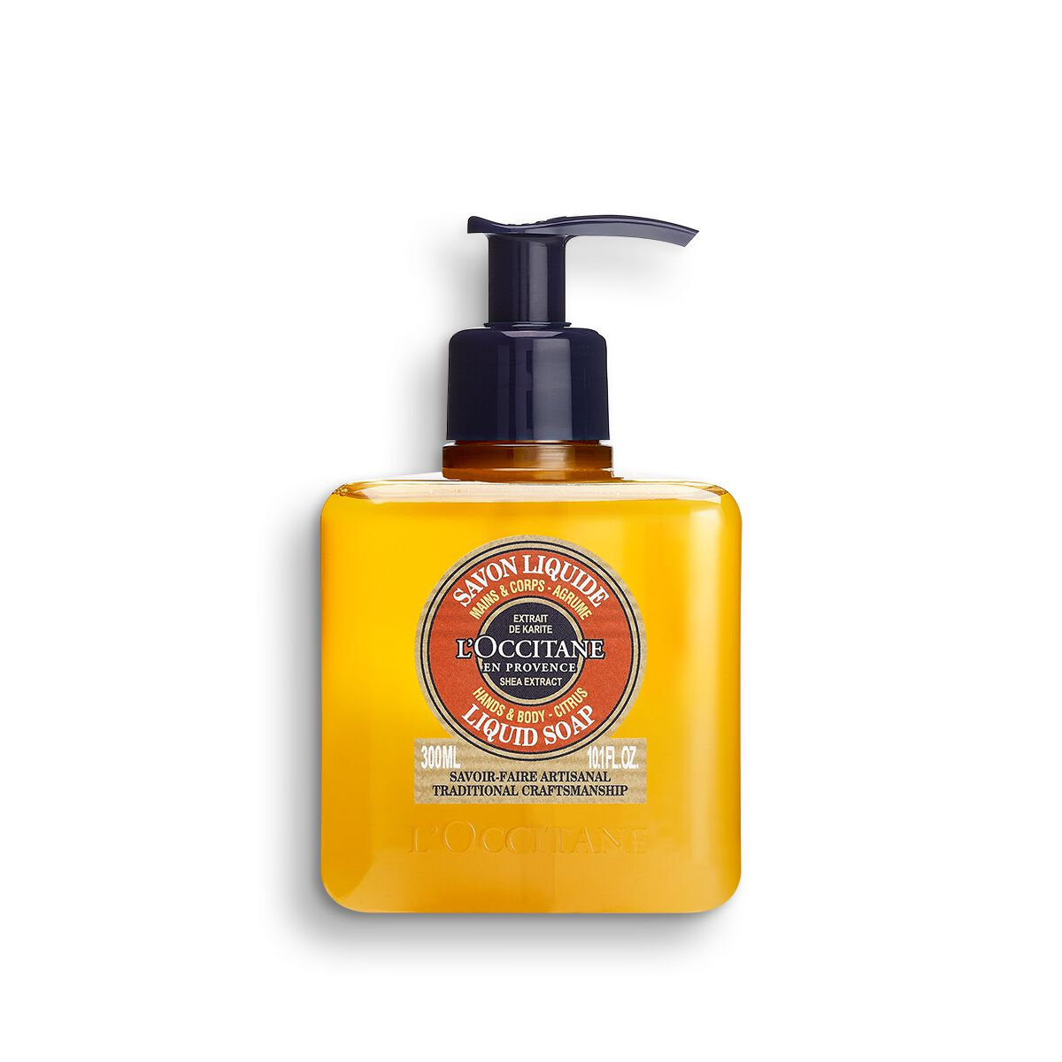 Shea Hands & Body Citrus Liquid Soap 300 ml.