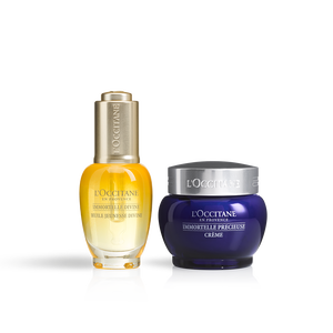 Immortelle Divine Youth Oil & Precious Cream Duo, , US