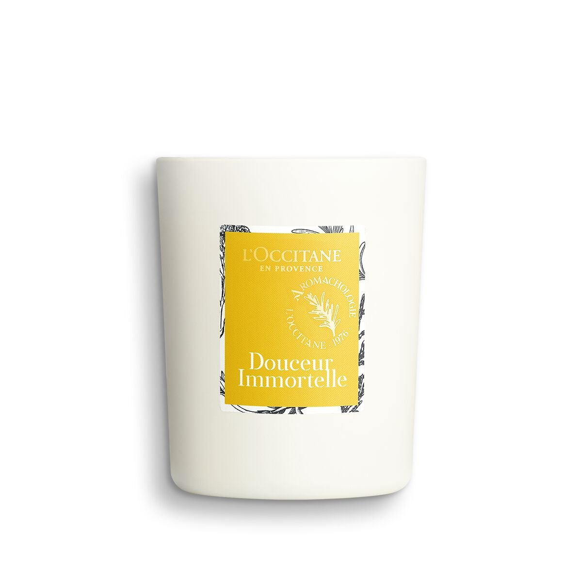 Douceur Immortelle Uplifting Candle 140 g. - L'OCCITANE
