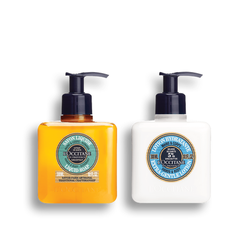 zoom view 1/1 of Shea Rosemary Hand Wash & Lotion Duo