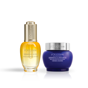 Immortelle Divine Youth Oil & SPF Precious Cream Duo, , US