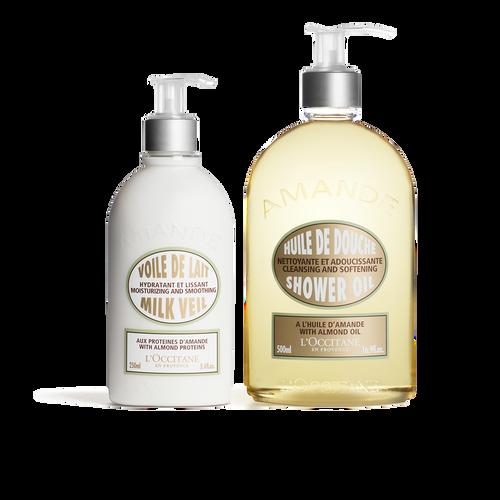 zoom view 1/2 of Almond Shower Moisturizing Duo
