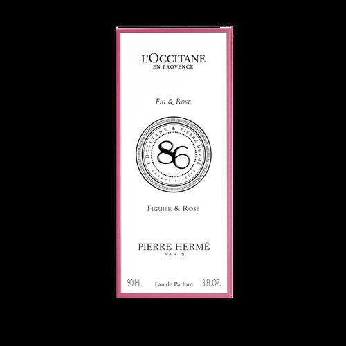 zoom view 3/4 of Fig & Rose Eau de Parfum
