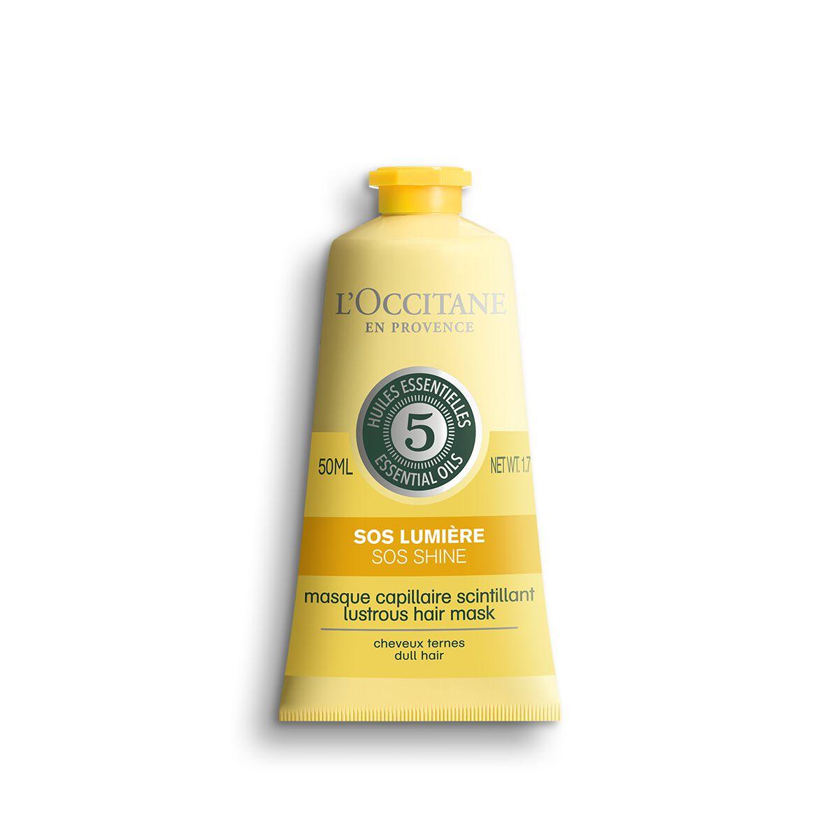 Lustrous Hair Mask - SOS Shine 50 ml. - L'OCCITANE