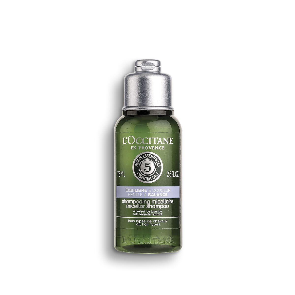 Aromachologie Gentle & Balance Micellar Shampoo 75 ml.