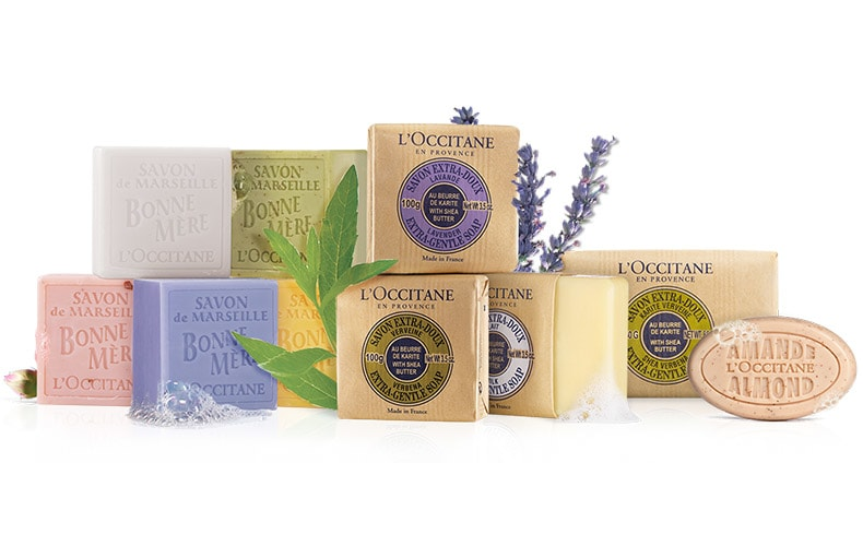 traditional soaps - L'Occitane