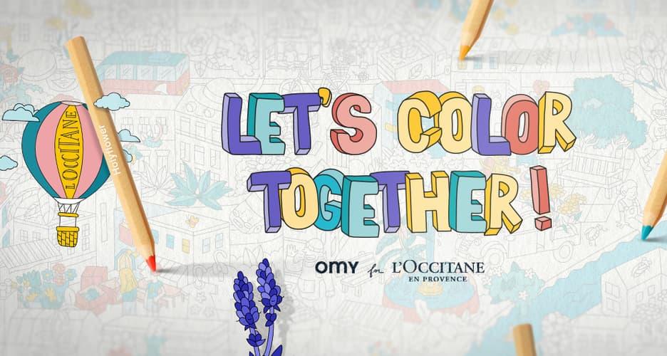 Let's Color Together!