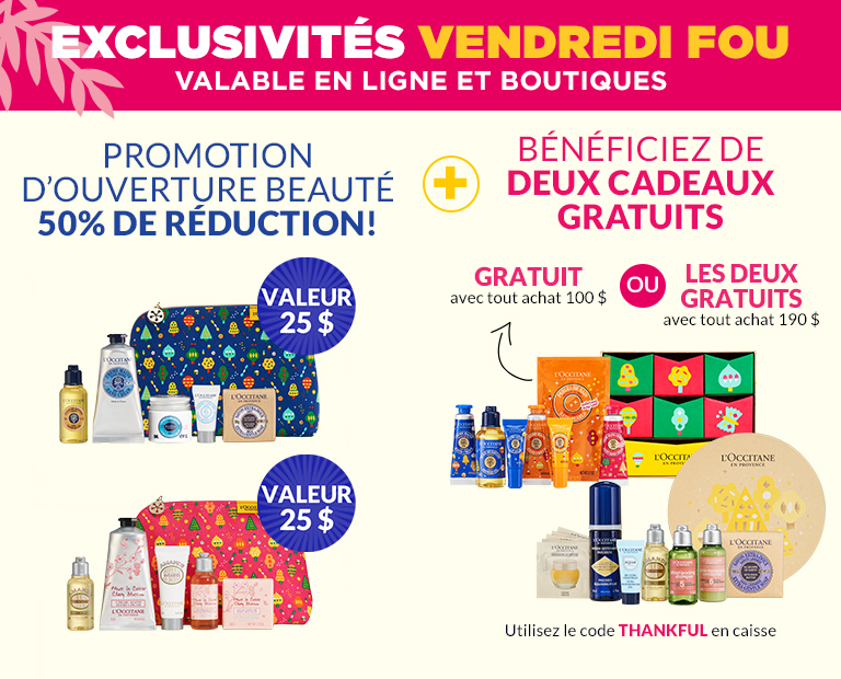 vendredi four la - L'OCCITANE