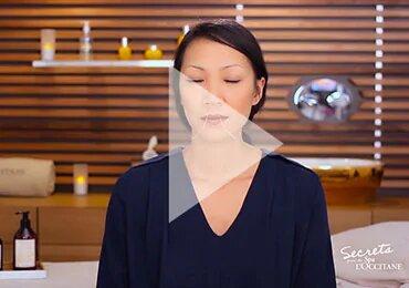 breathing tips - L'Occitane